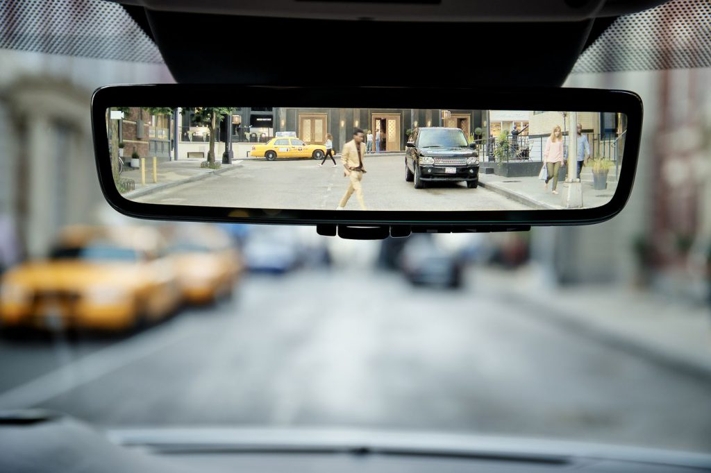 Looking through the rear-view mirror